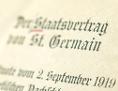 Der Vertrag von St. Germain