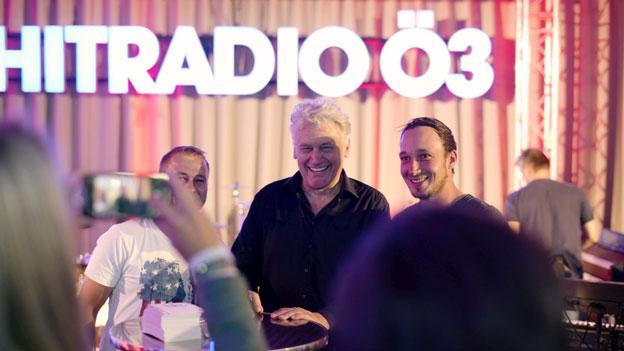 Rainhard Fendrich bei der Ö3-Studio-Session