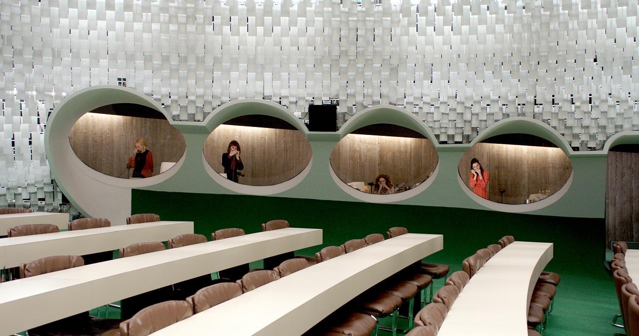 Ein Sitzungssaal