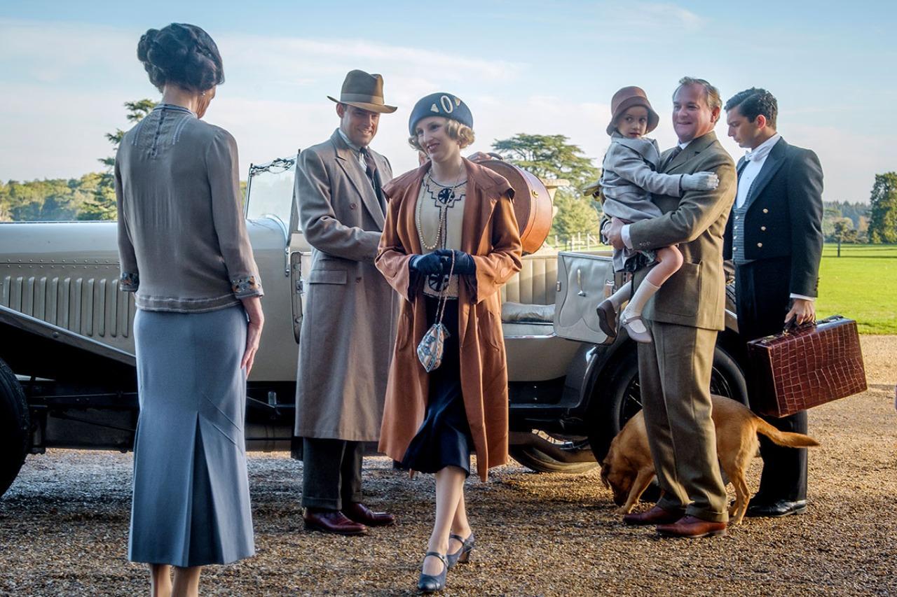 """Szenenbild """"Downton Abbey"""""""