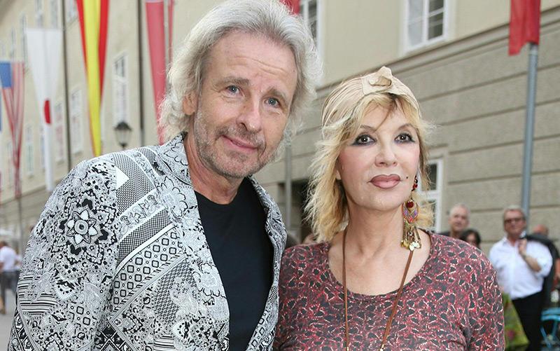 Thomas und Thea Gottschalk 2013 bei den Salzburger Festspielen, im Frühjahr hat sich das Paar nach 43 Jahren Ehe getrennt