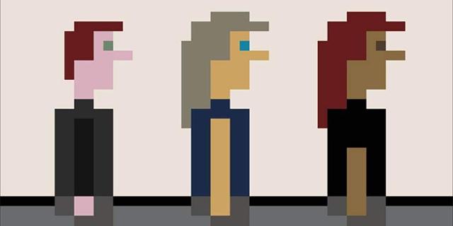 """Handmade Pixels"" Cover"