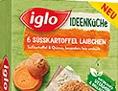 Iglo Süßkartoffel Laibchen 270g
