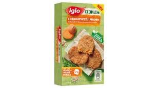 Iglo Packung Süßkartoffel Laibchen