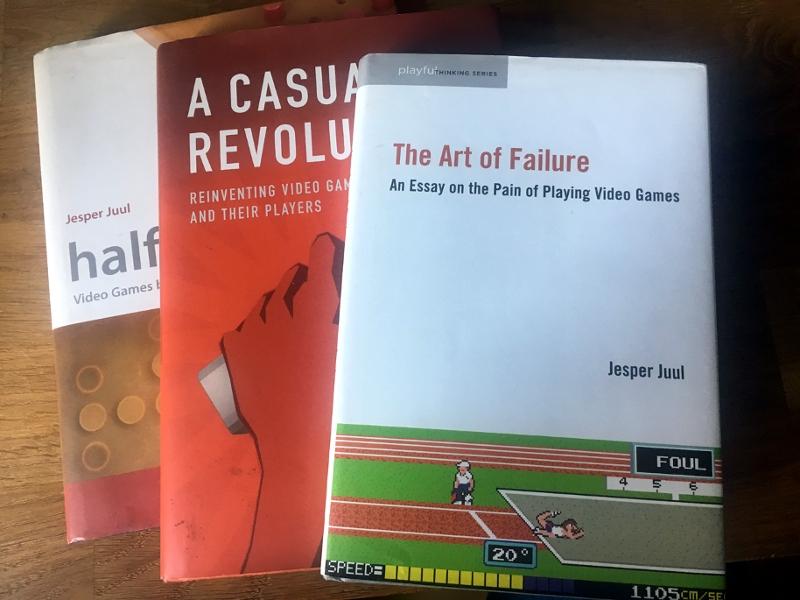 Bücher von Jesper Juul, dem Spieleeforscher