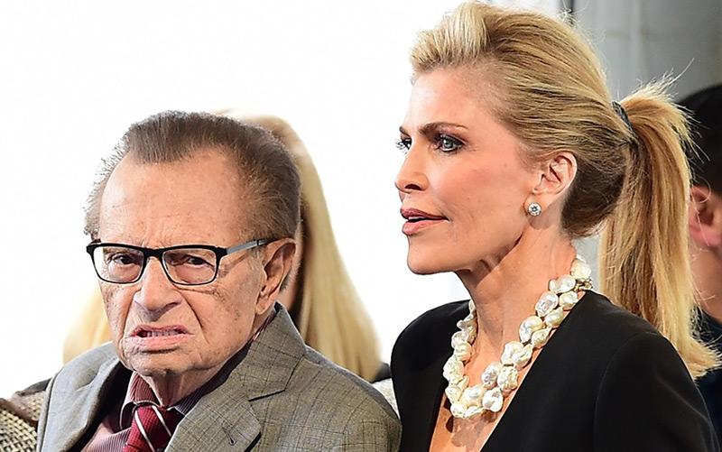 TV-Moderatorenlegende Larry King und seine Ehefrau Shawn King