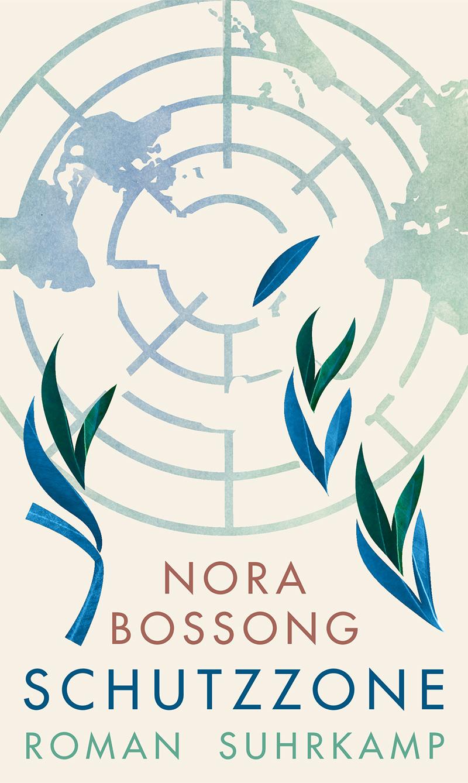 Buchcover mit Grafik: zerbrechendes UNO-Symbol
