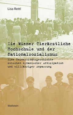 """Cover des Buchs """"Die Wiener Tierärztliche Hochschule und der Nationalsozialismus"""""""