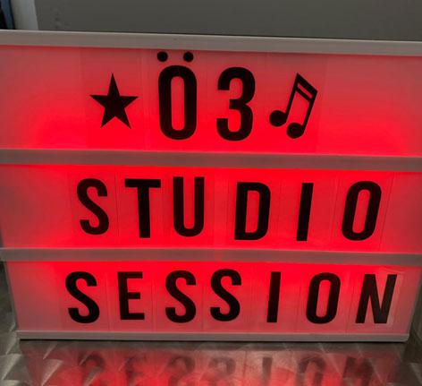 Rainhard Fendrich Ö3-Studio-Session