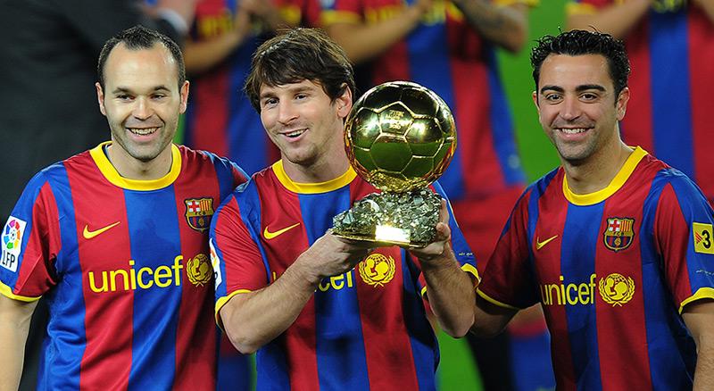 Xavi-Iniesta-Messi