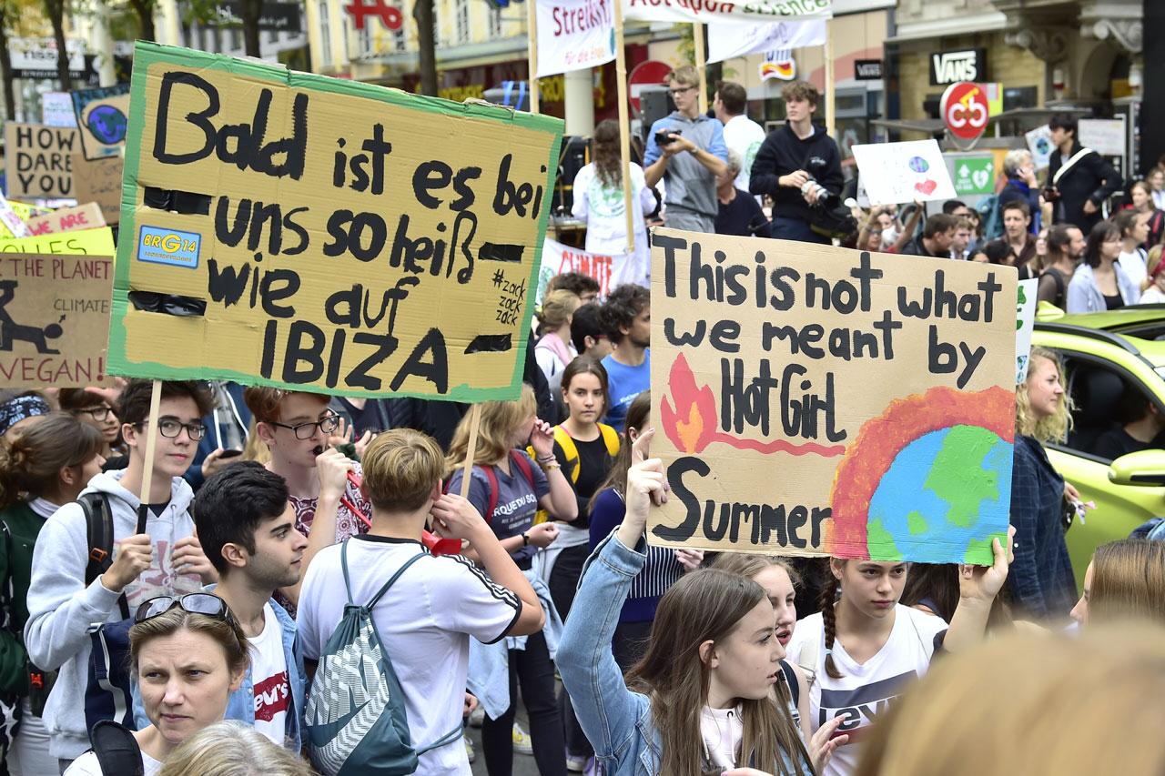 Earth Strike in Wien