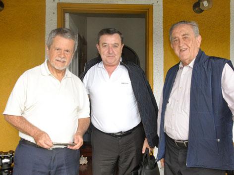Pater José Fernando Tobón, Pater Darío Echeverri, Pater Gabriel Mejía Montoya