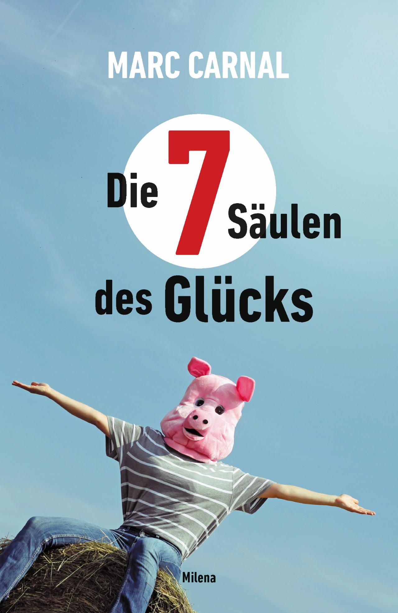 """Buchcover """"Die sieben Säulen des Glücks"""""""