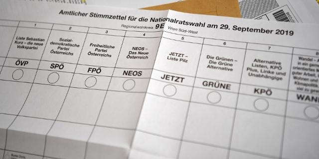 Wahlzettel NRW 2019