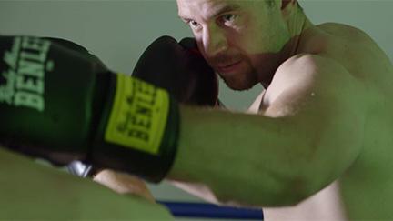 Thomas Kasper beim Boxen
