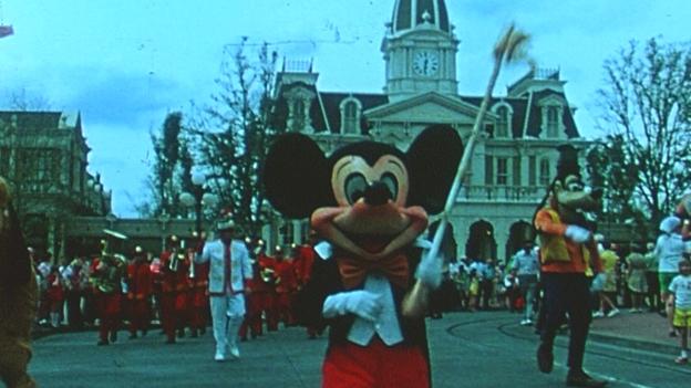 Eröffnung Walt Disney World Resort
