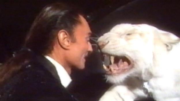 Roy Horn und sein weißer Tiger
