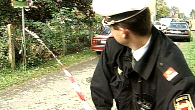 Polizeieinsatz- Franz Fuchs wird enttarnt