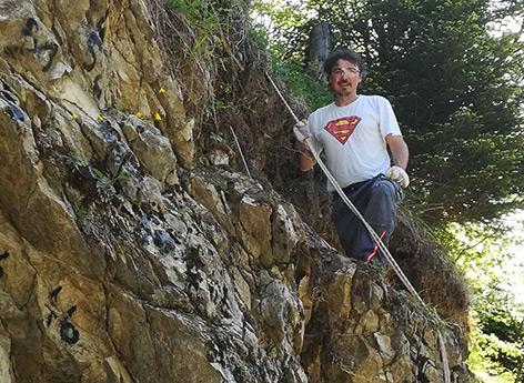 Paläontologe Alexander Lukeneder