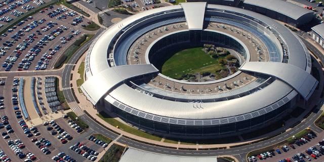 Luftaufnahme von GCHQ
