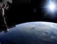 Blick von der ISS auf die Erde