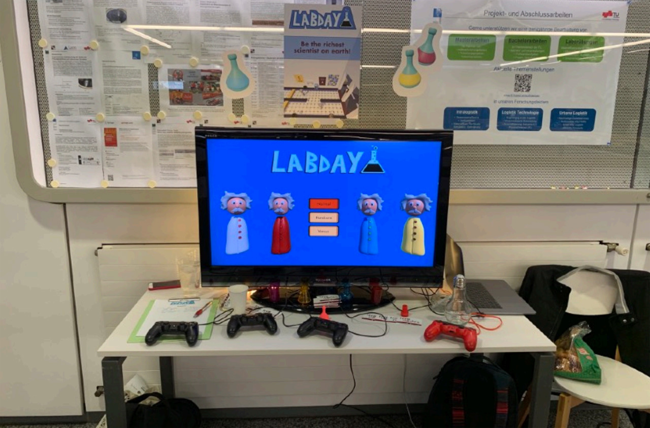 """Lab Day"""