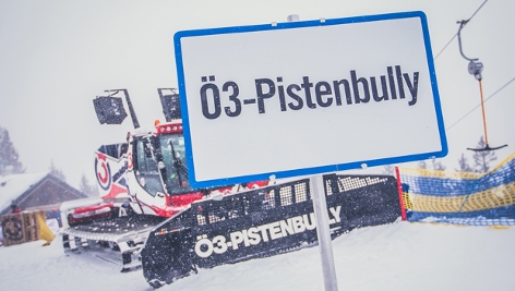 Pistenbully in Mitterbach 2019