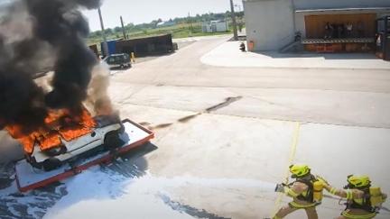 Szene aus Feuer und Flamme