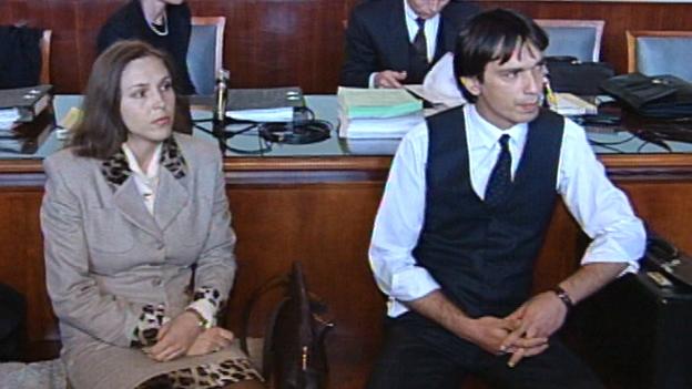 Das Ehepaar Pilhar bei Prozess in Wr. Neustadt