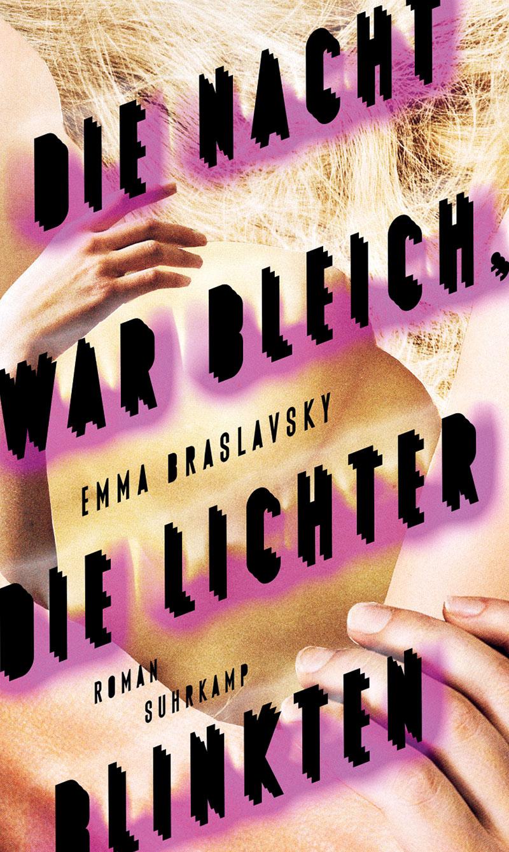 """Buchcover """"Die Nacht war bleich, die Lichter blinkten"""""""