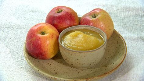 Kloanidai Apfelmus Sauerkraut Bohnensuppe