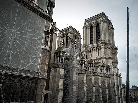 Notre-Dame-Kathedrale in Paris