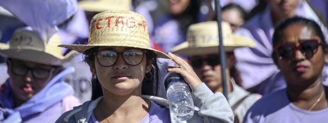 Brasilien Proteste Frauen