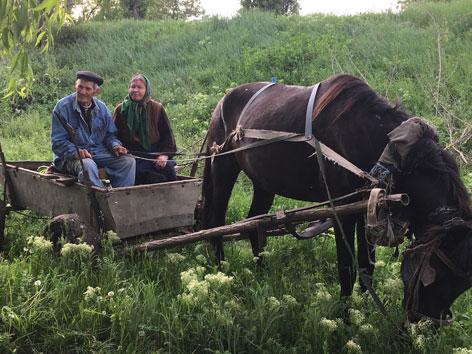Moldau Chisinau Bauern