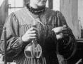 Marie Curie im Labor (Ausschnitt)