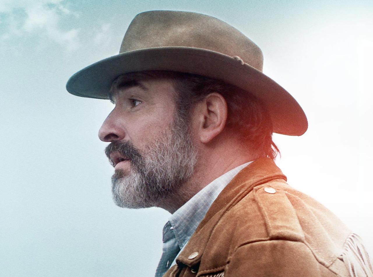 """Jean Dujardin in """"Deerskin"""""""