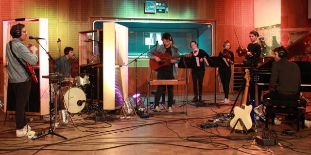 Good Wilson bei einer FM4 Acoustic Session