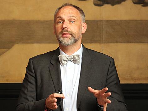 Karsten Lehmann,  Leiter des Spezialforschungsbereichs 'Interreligiosität' (SIR) an der KPH