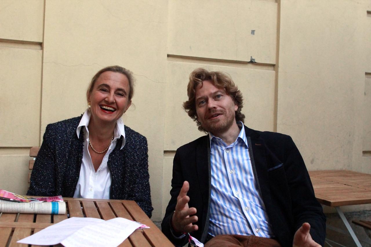 Foto von Volker Wittpahl und Katharina Larisch
