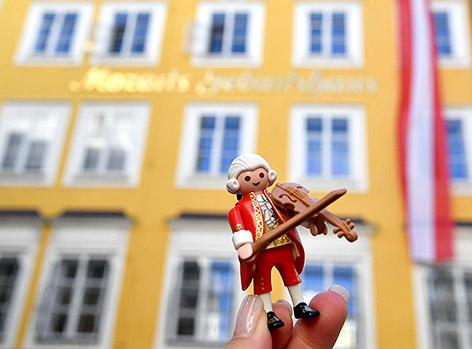 Mozart als Playmobil-Figur