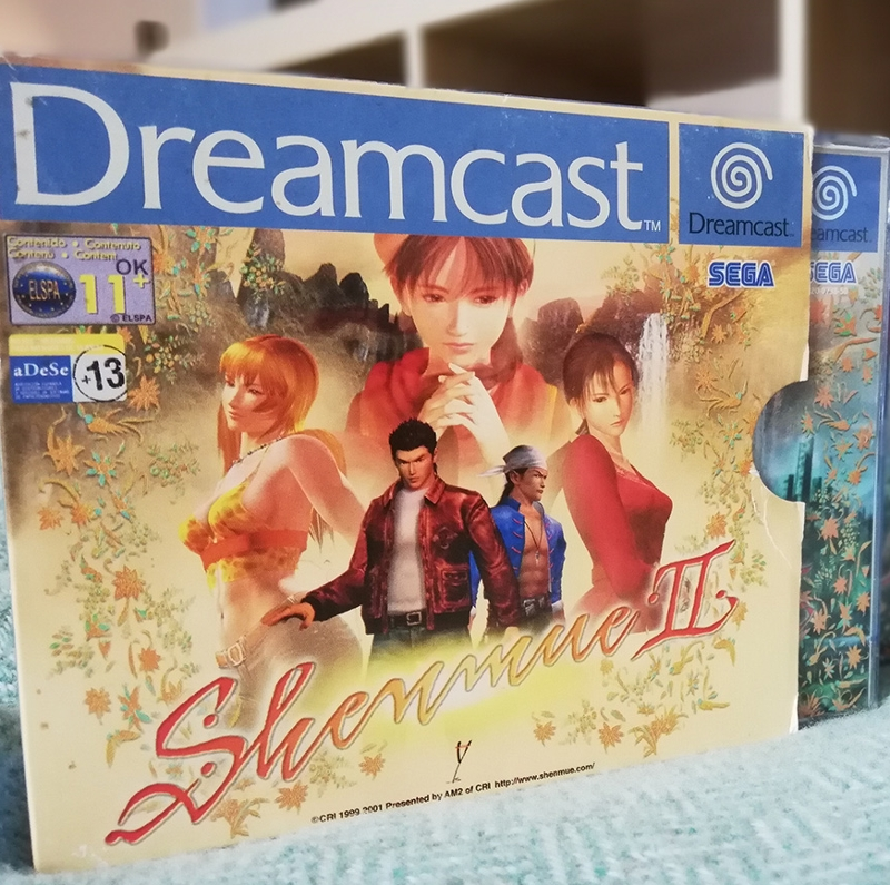 Sega Dreamcast Shenmue 2 Game