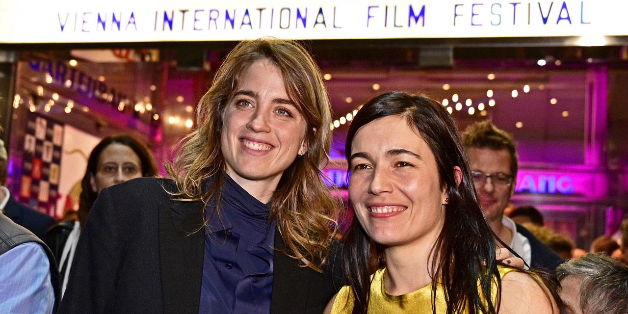 Schauspielerin Adele Haenel und Viennale Direktorin Eva Sangiorgi