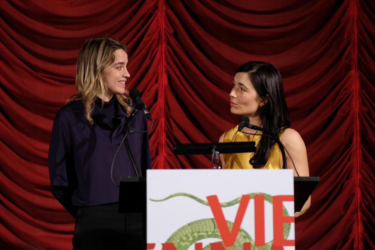 Eva Sangiorgi und Adele Haenel bei der Viennale Eröffnung