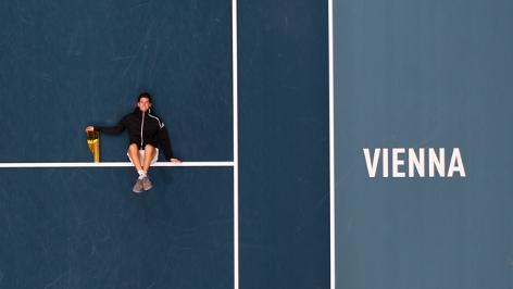 Daniel Thiem beim ATP Wien