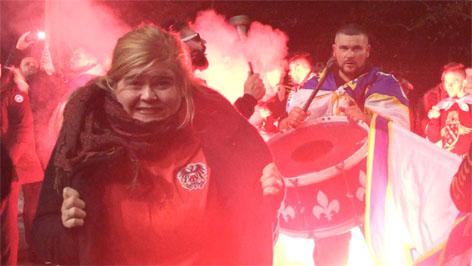 """judith barfuß und elena schwarz """"Fußballfrauen"""""""