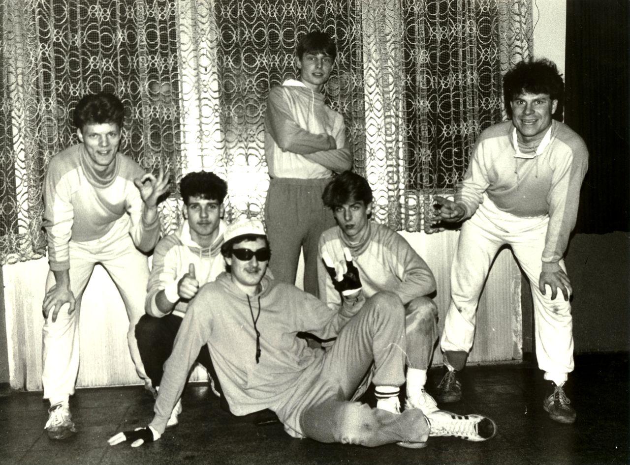 DDR Breakdance Crew