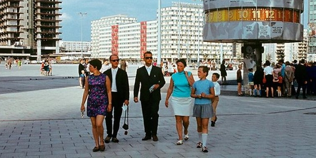 Alexanderplatz Berlin DDR