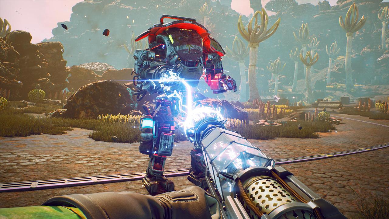 Screenshots aus dem Spiel The Outer Worlds