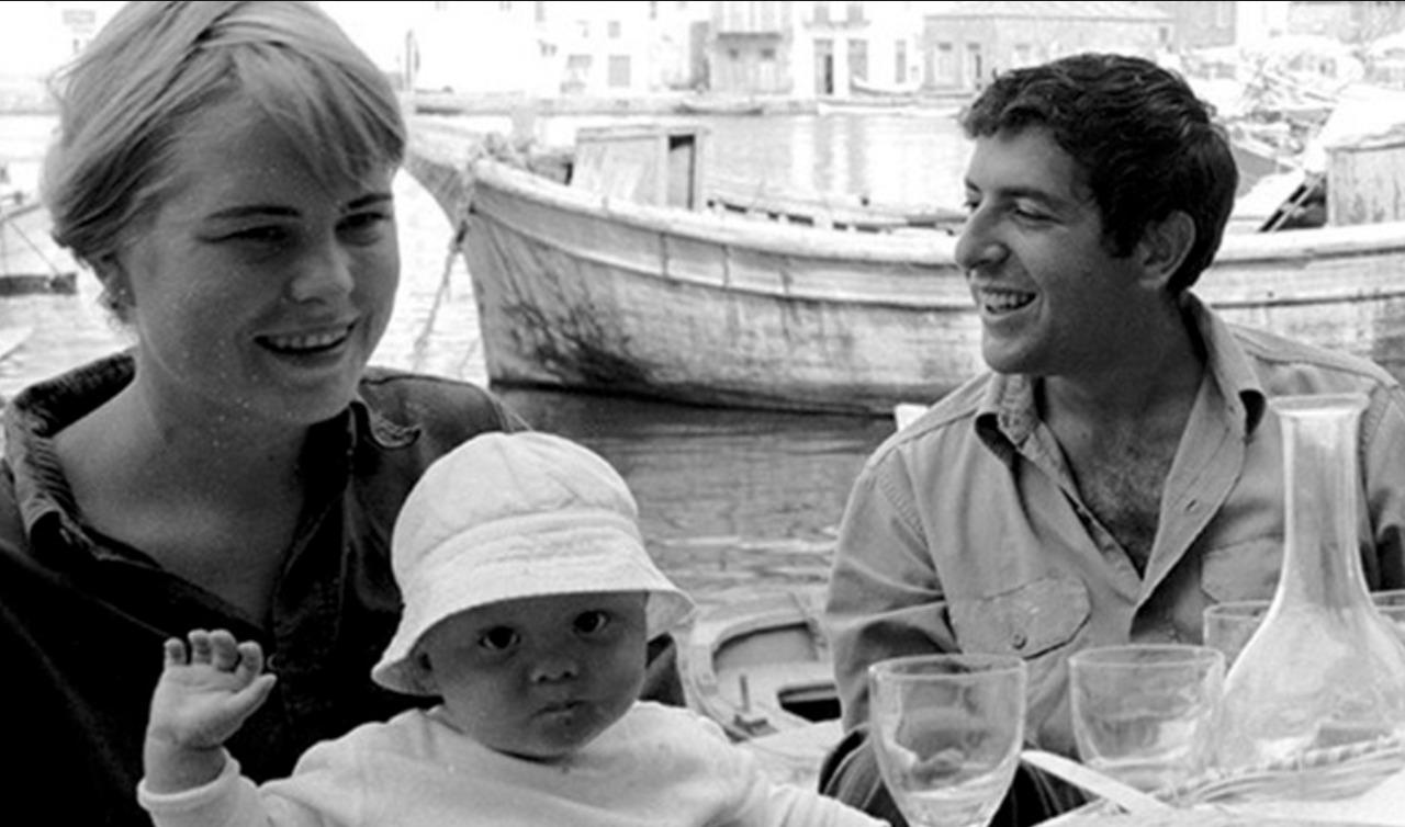 Leonard Cohen und Marianne Ihlig