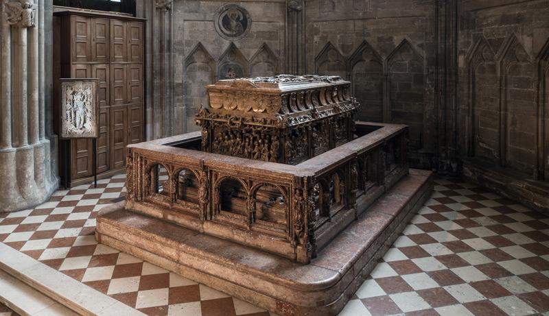 Das Grab von Friedrich III.
